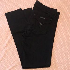 Hudson Collin Skinny Jeans (Black)